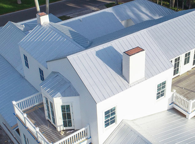 Boca Grande Historic District Renovations: Roofing | Old Florida Homes