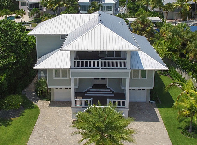 New Home Construction Services New Roof | Boca Grande Builders Old Florida Homes